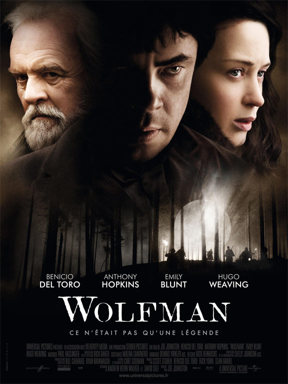 The Wolfman Poster #8