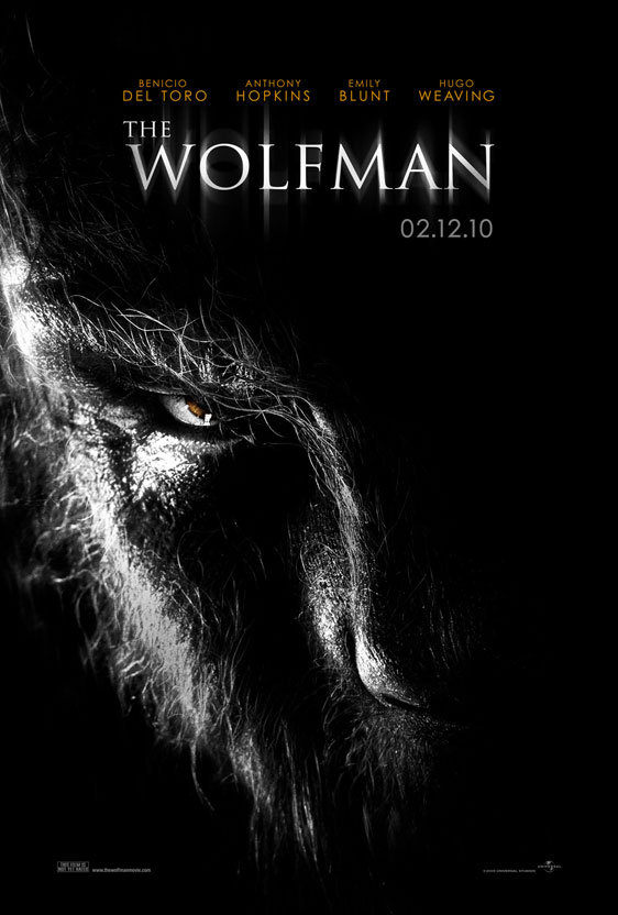 The Wolfman Poster #1