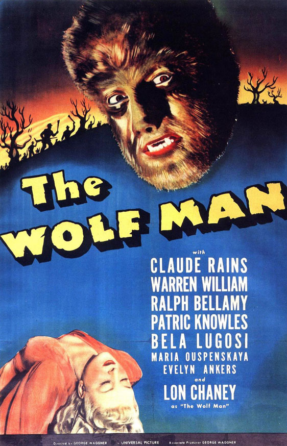The Wolf Man Poster #1