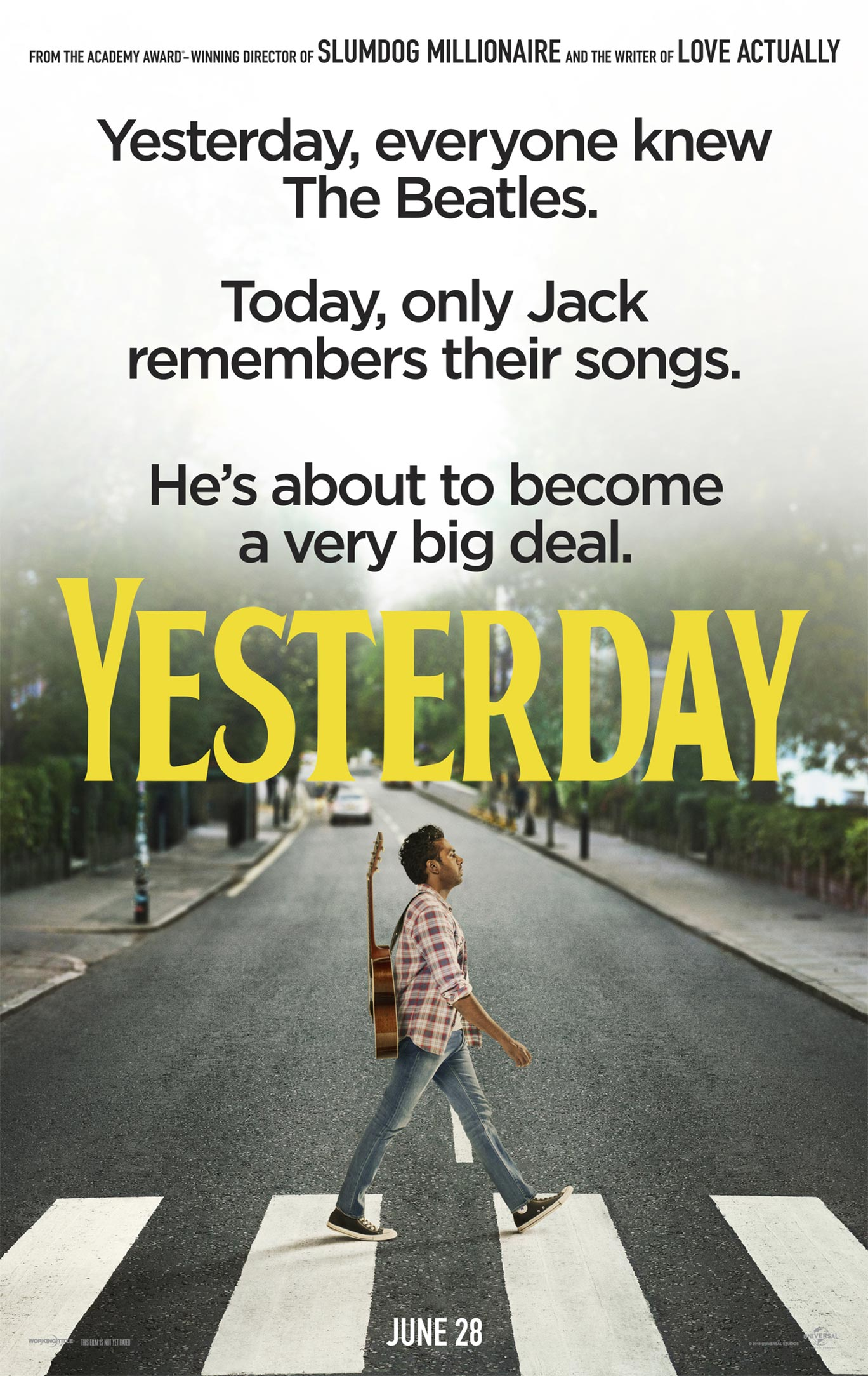 Yesterday Poster #1