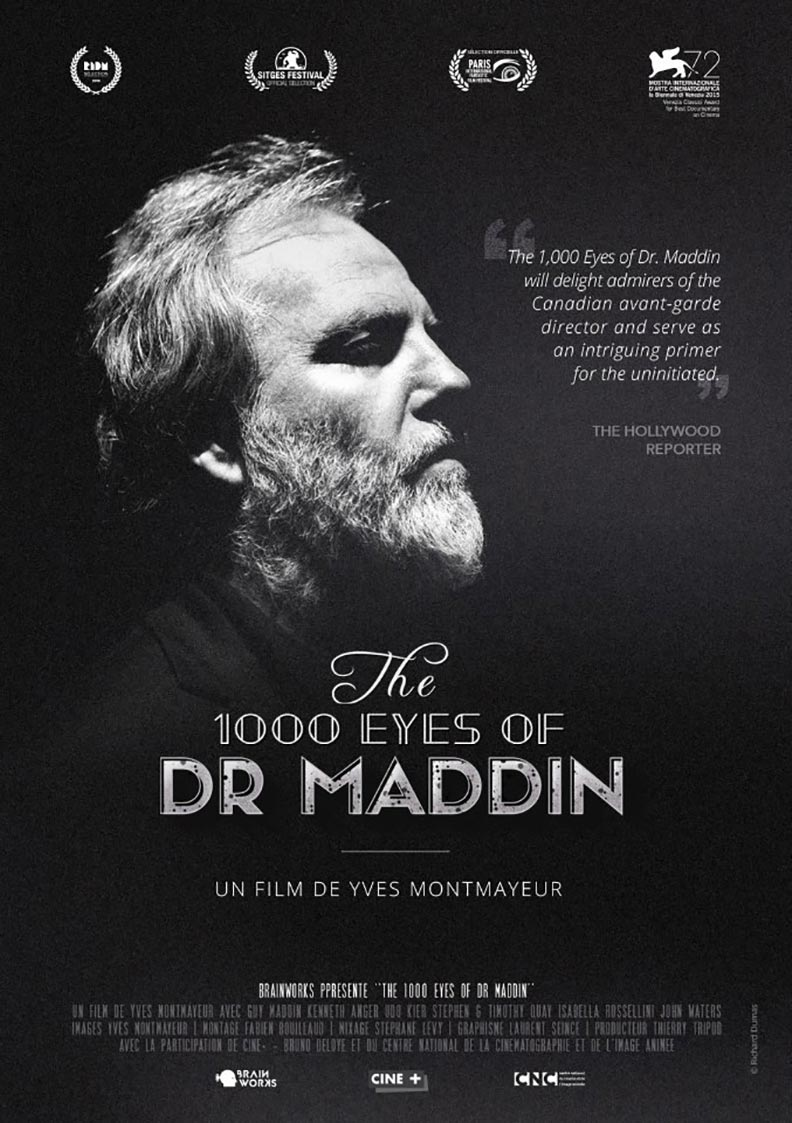 The 1000 Eyes of Dr. Maddin Poster #1