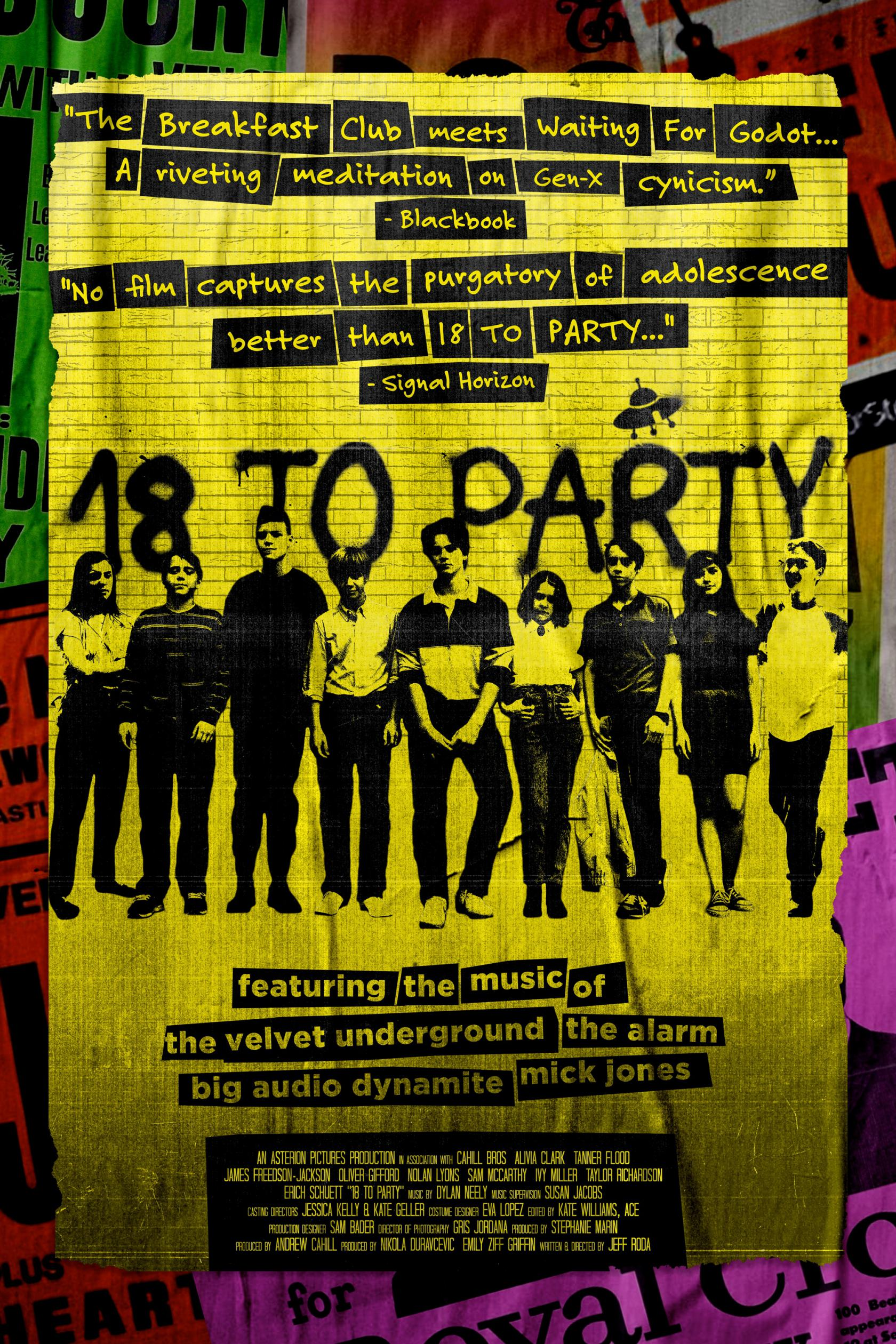 18 to Party Poster #1