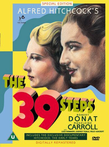 The 39 Steps Poster #2