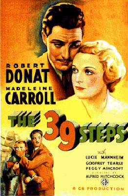 The 39 Steps Poster #1