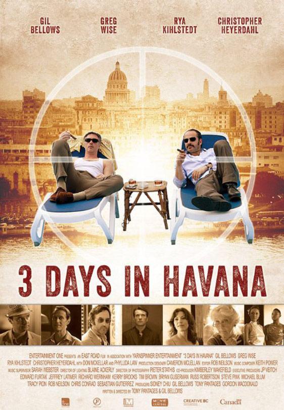 Three Days in Havana Poster #1