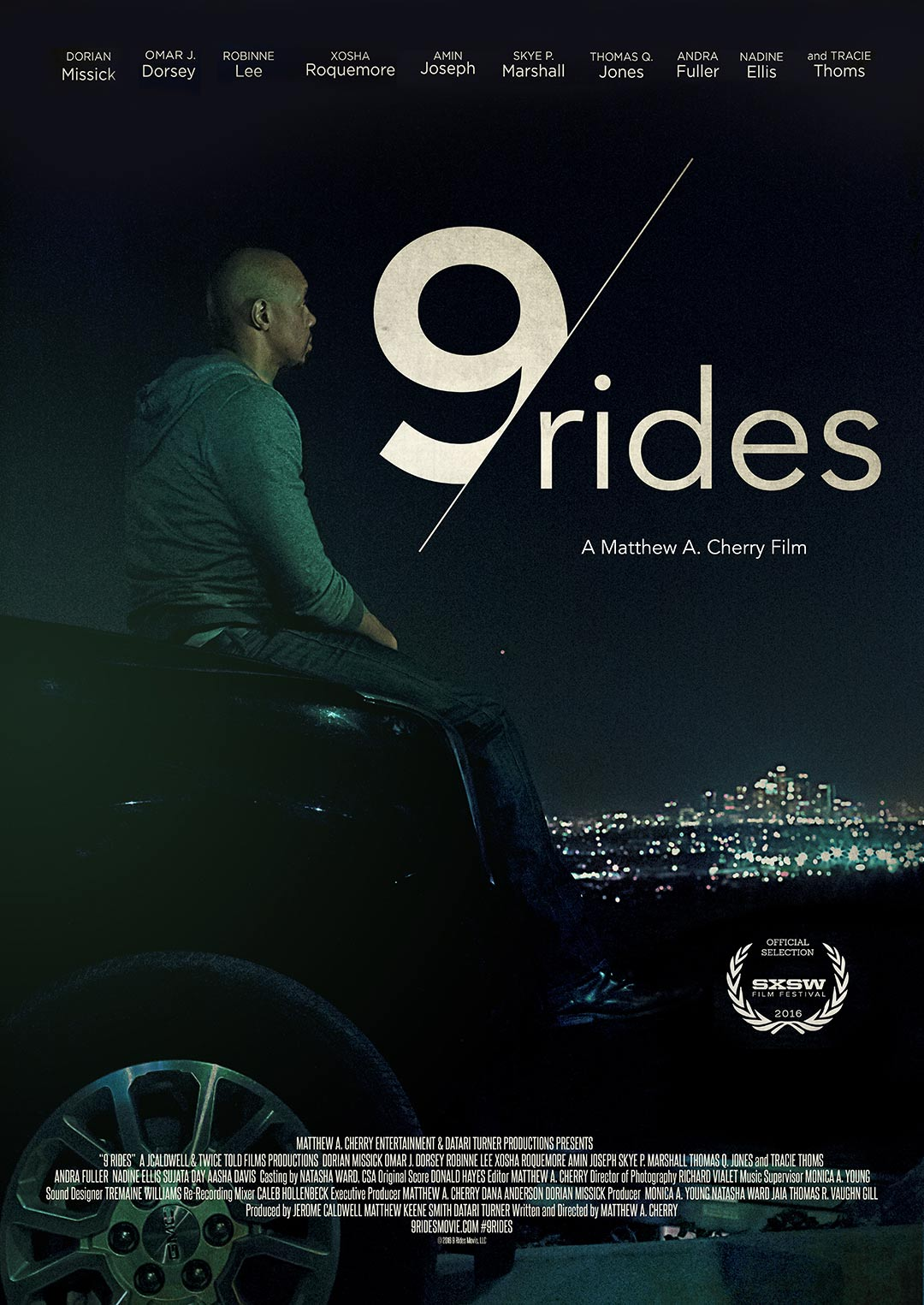9 Rides Poster #1
