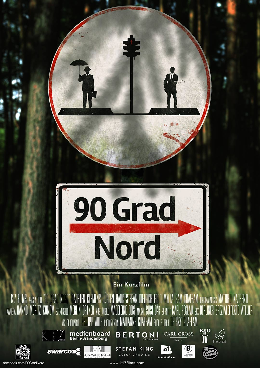 90 Degrees North Poster #1