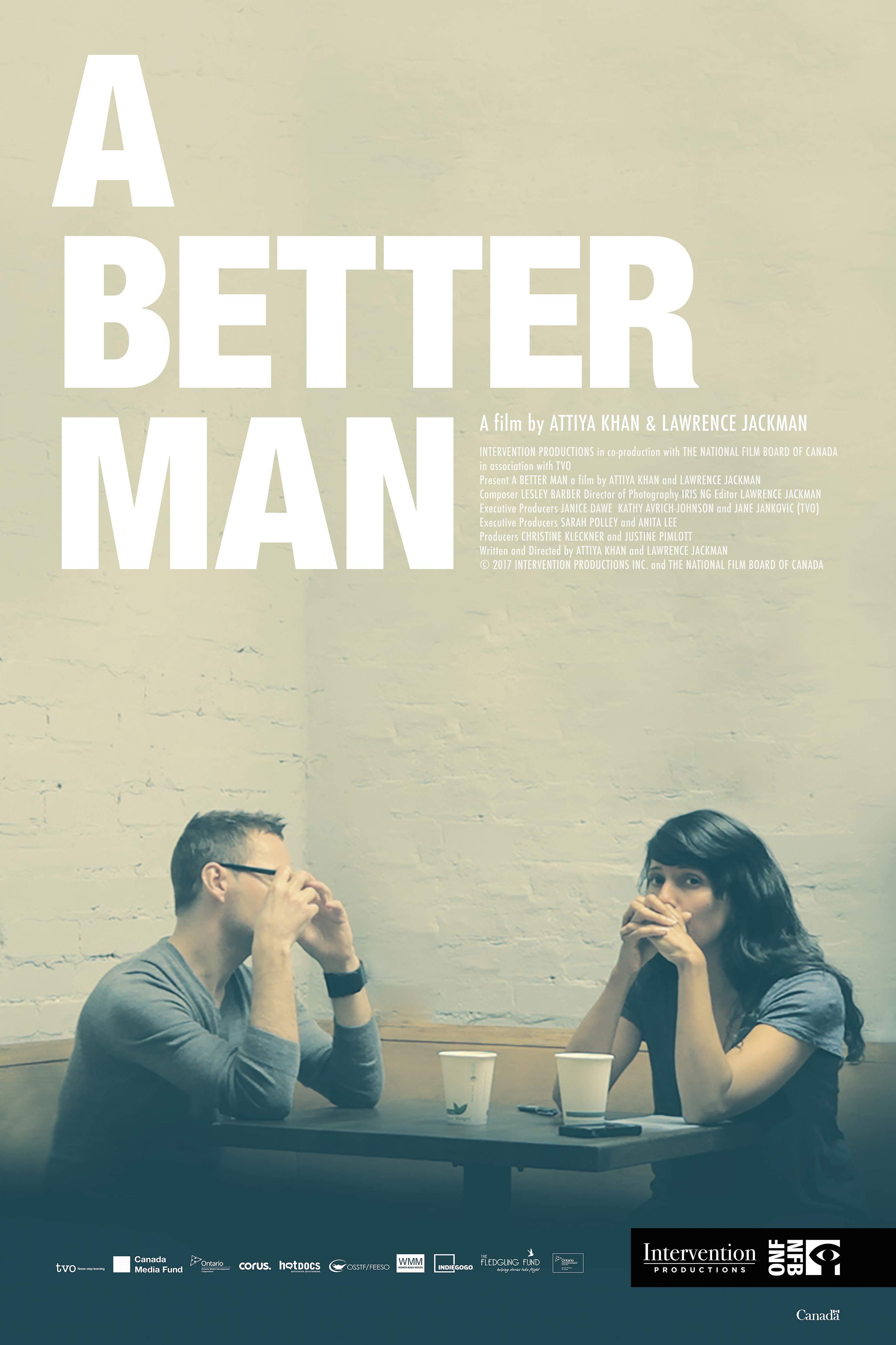 A Better Man Poster #1