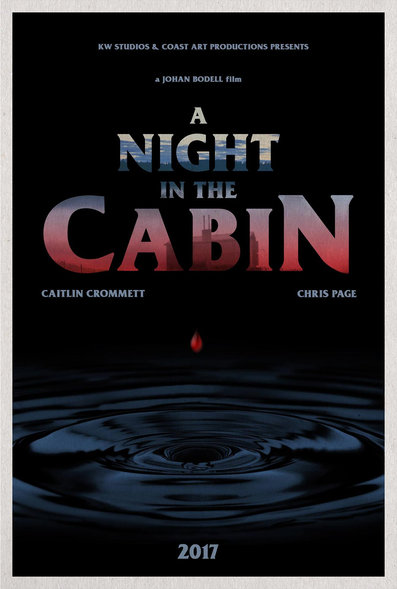 A Night in the Cabin Poster #1