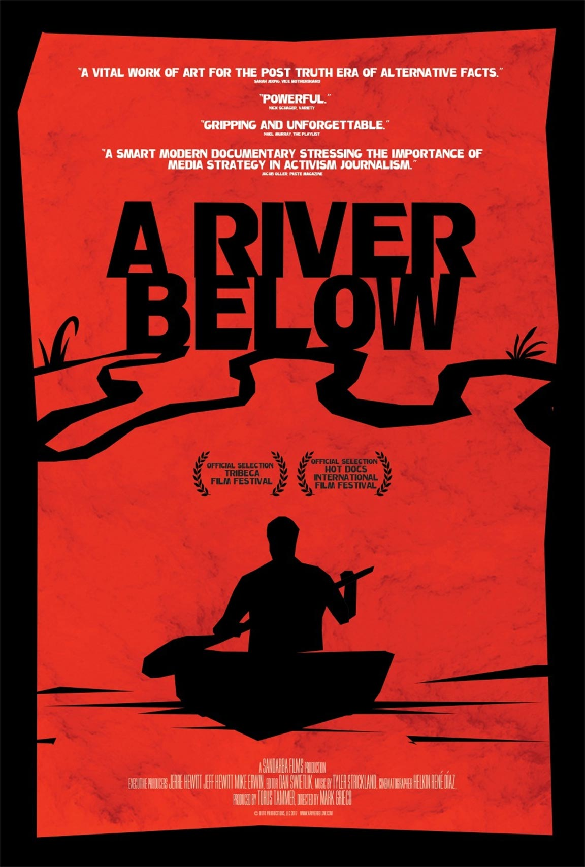 A River Below Poster #1