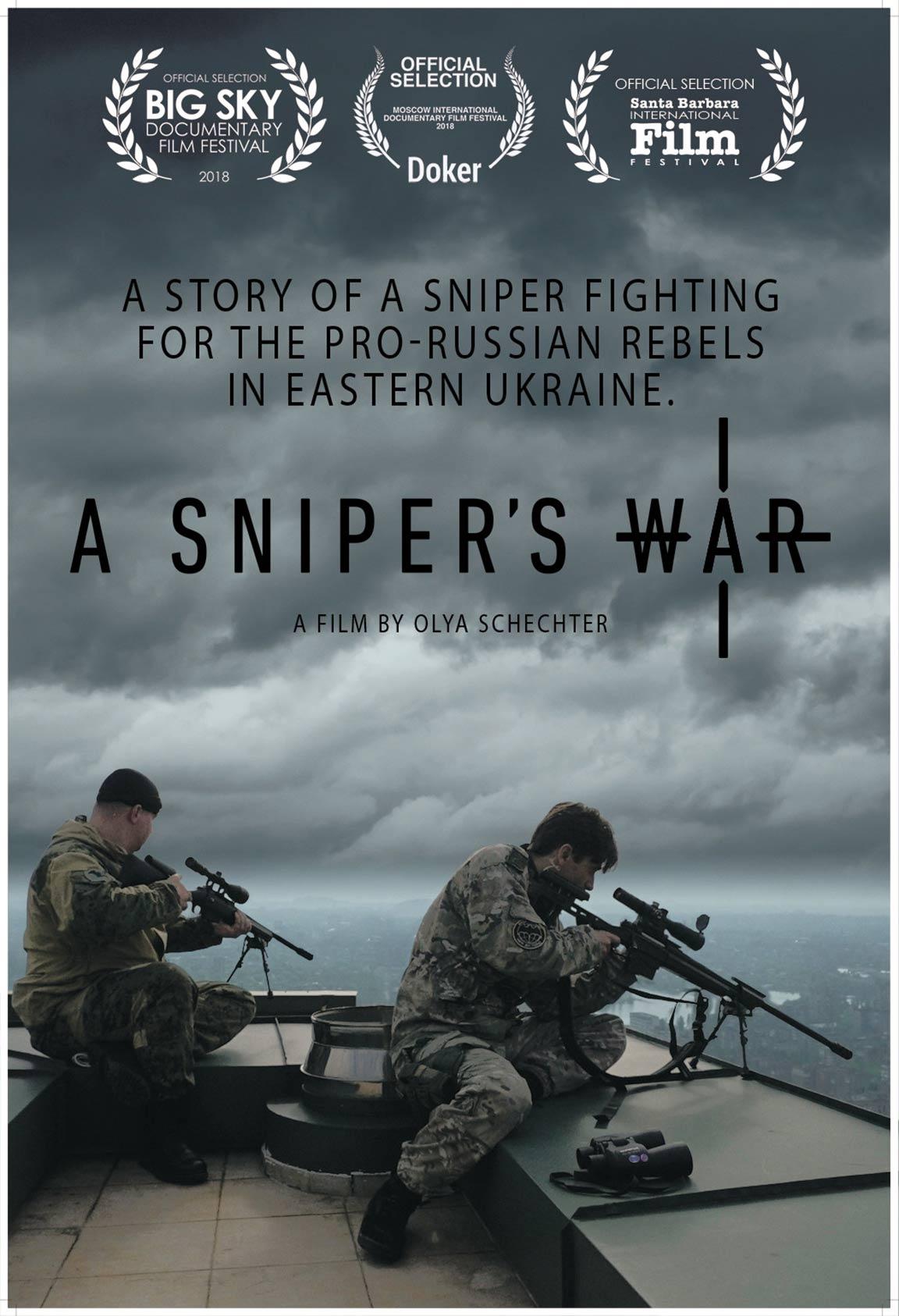 A Sniper's War Poster #1