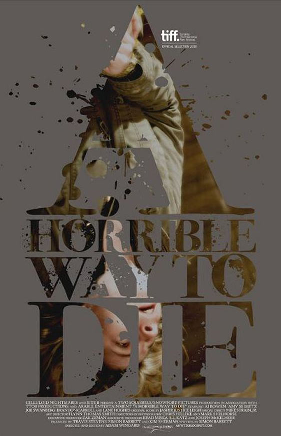 A Horrible Way to Die Poster #2