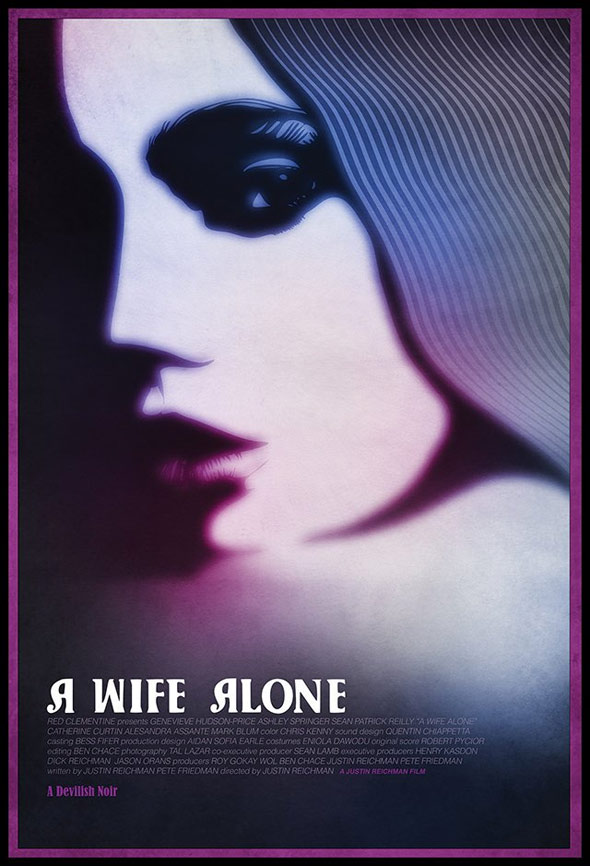 A Wife Alone Poster #1