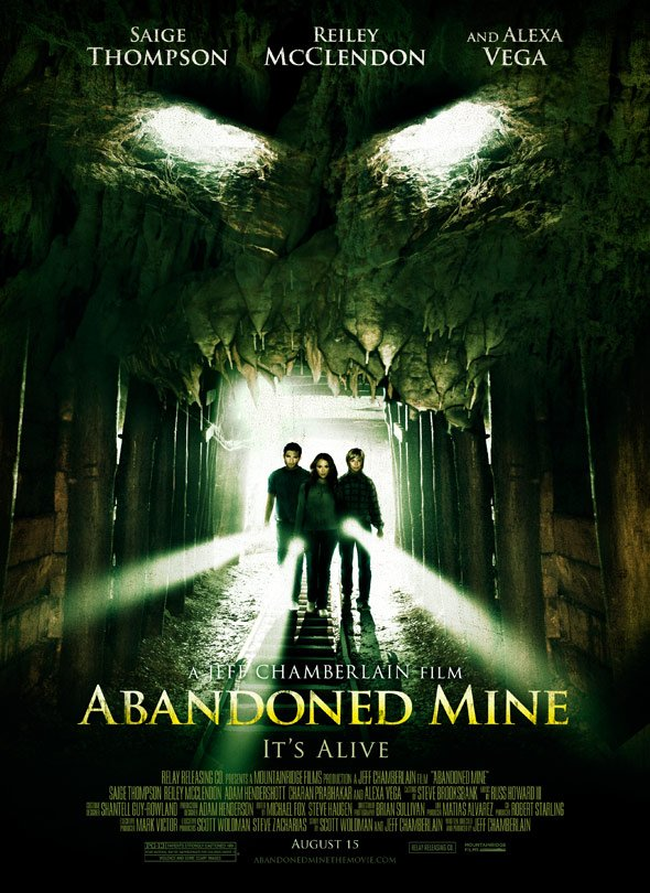 Abandoned Mine Poster #1