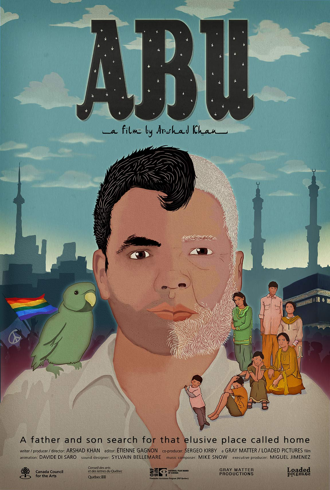 ABU : Father Poster #1