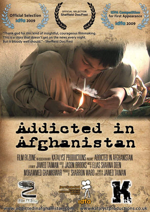 Addicted in Afghanistan Poster #1