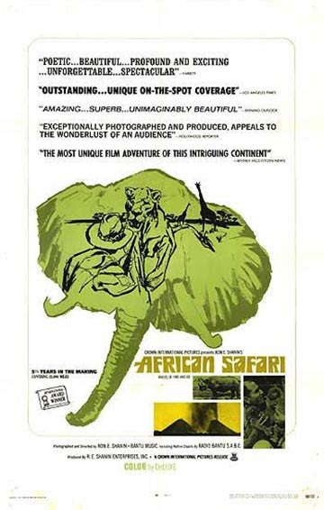 African Safari Poster #1