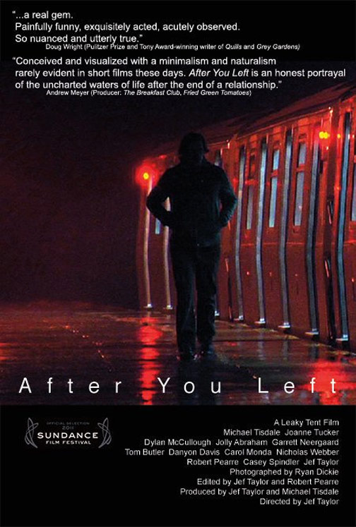 After You Left Poster #1