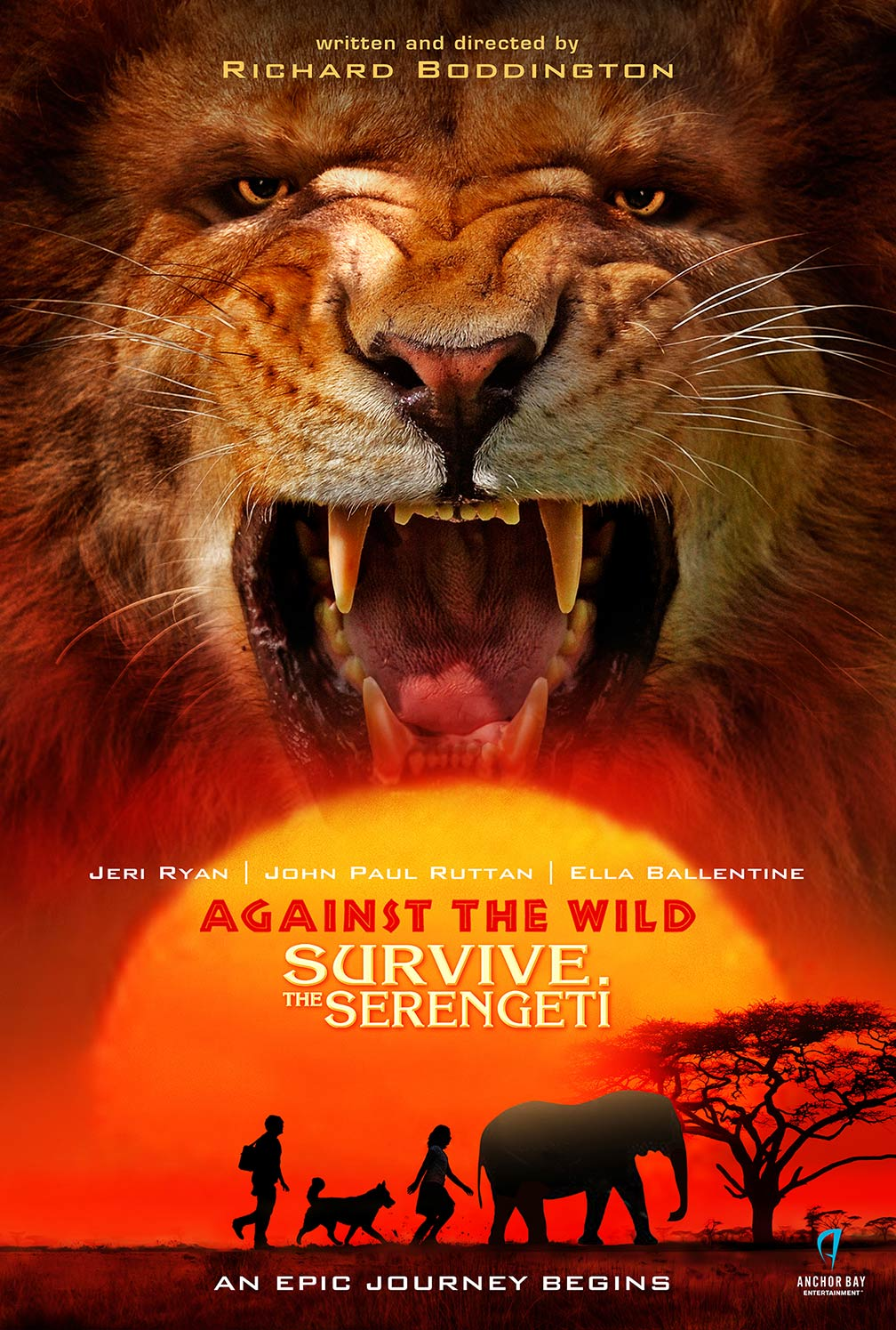Against the Wild 2: Survive the Serengeti Poster #1