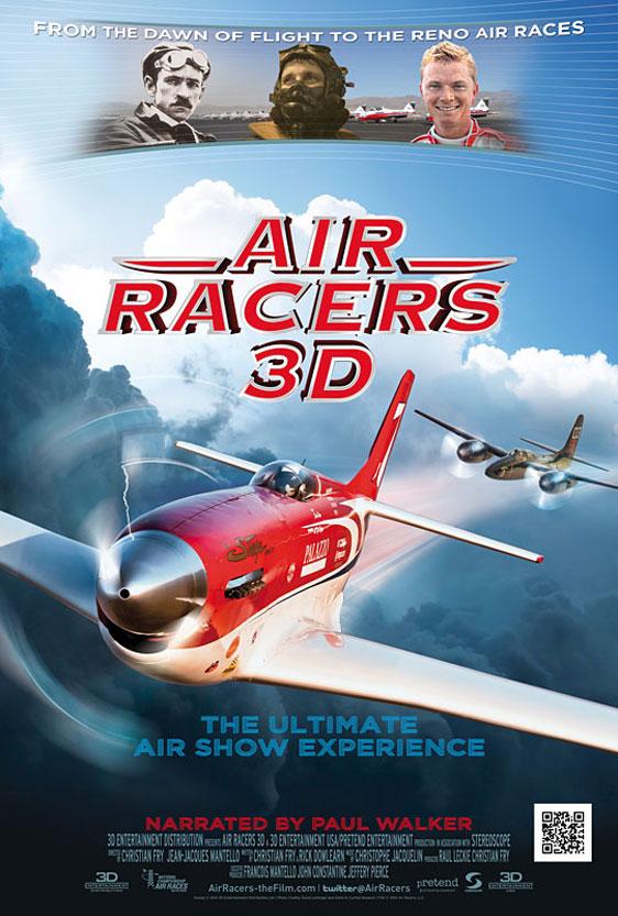 Air Racers 3D Poster #1