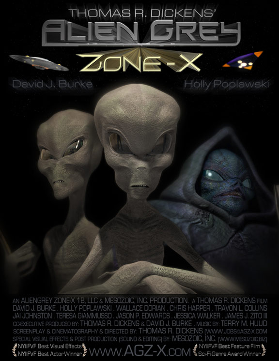 Alien Grey: Zone-X Poster #1