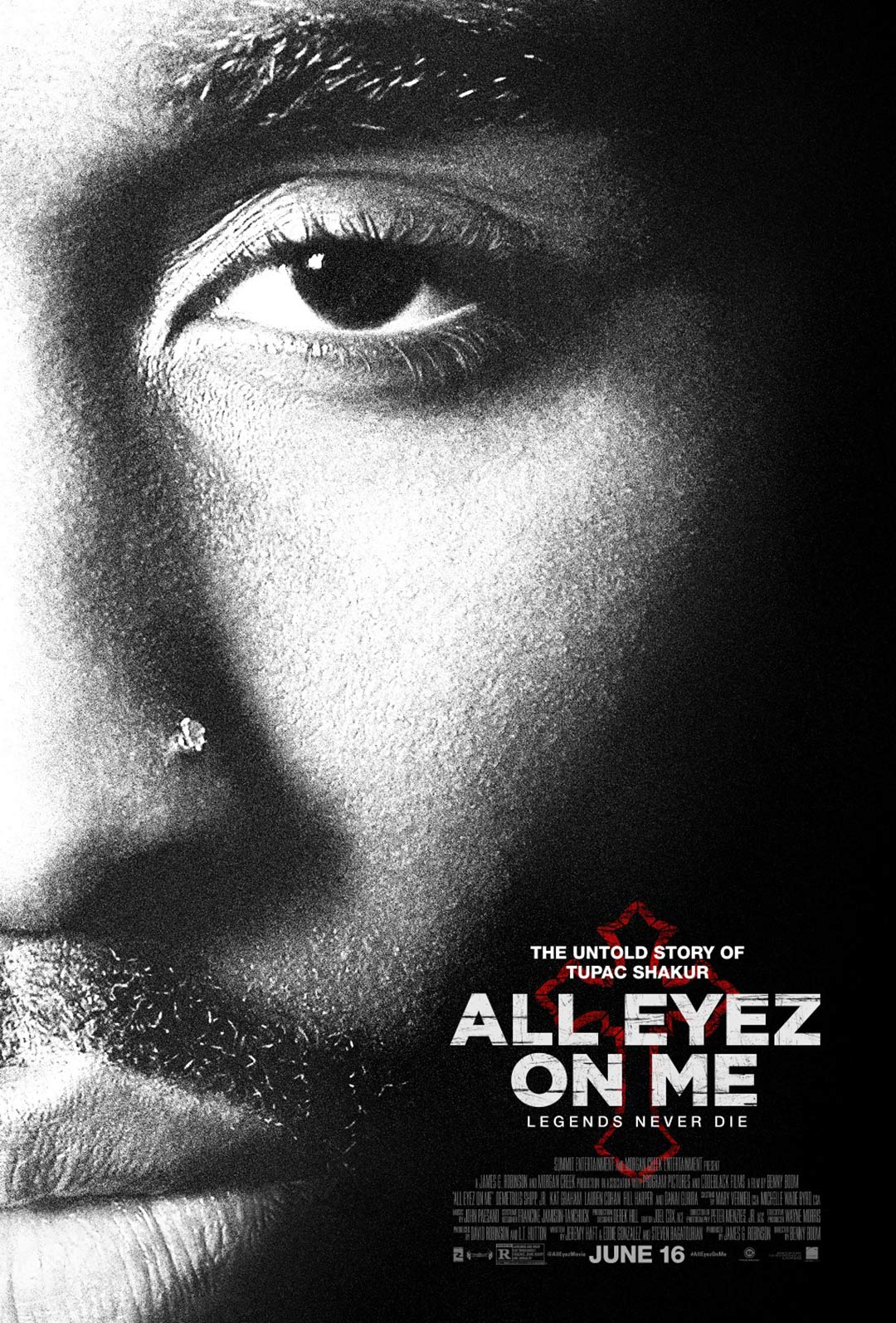 All Eyez on Me Poster #2