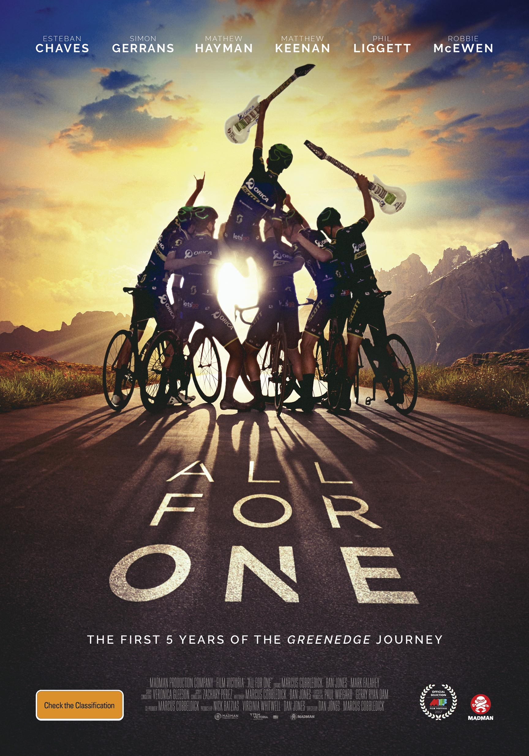 All for One Poster #1