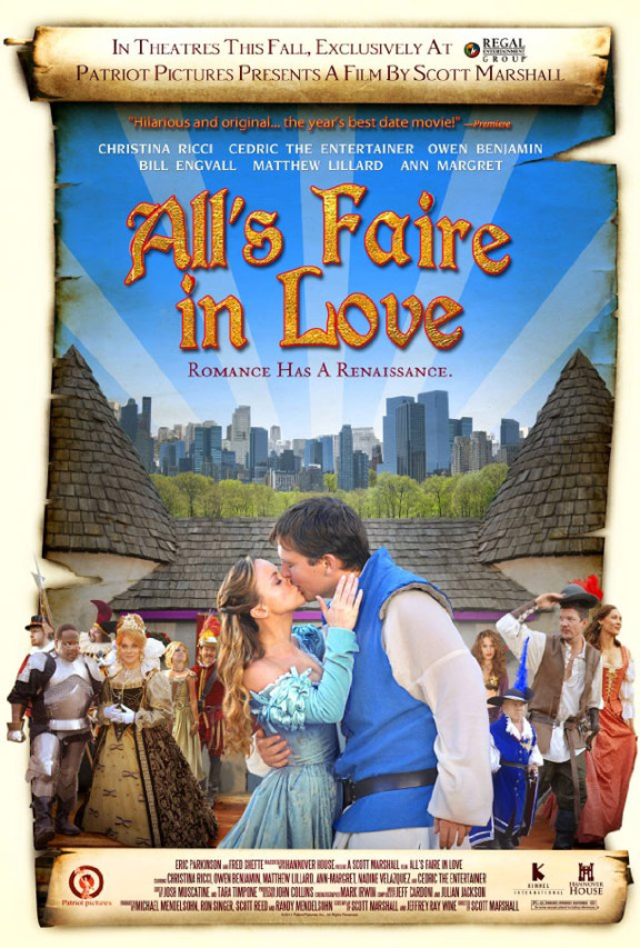 All's Faire in Love Poster #1
