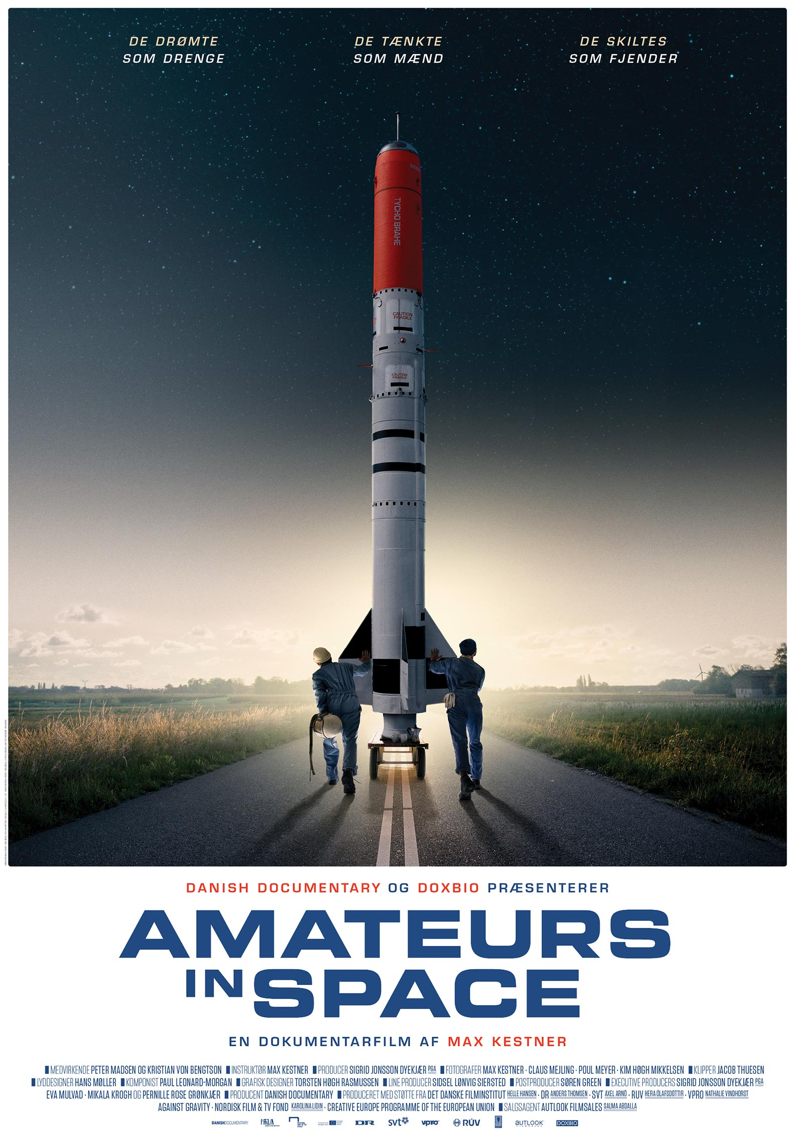 Amateurs in Space Poster #1