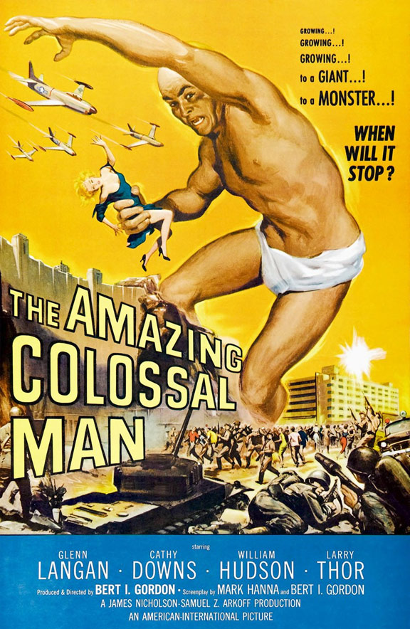The Amazing Colossal Man Poster #1