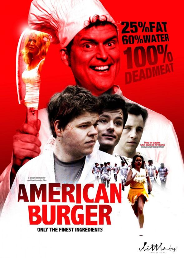 American Burger Poster #1