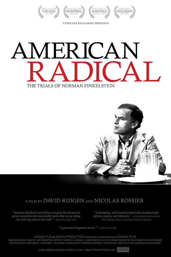 American Radical: The Trials of Norman Finkelstein Poster #1