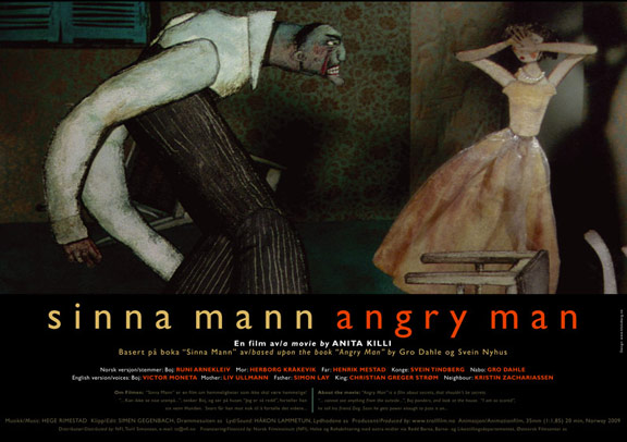 Angry Man Poster #1