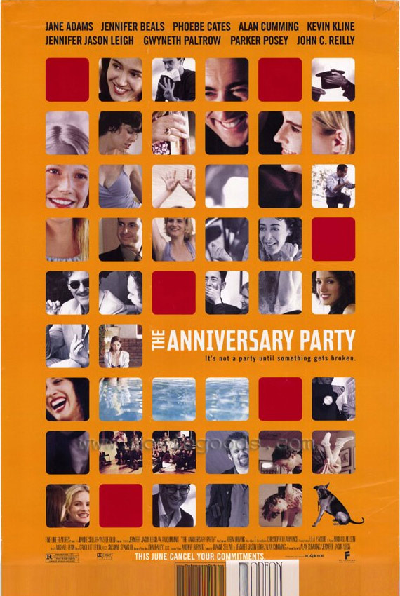 The Anniversary Party Poster #1