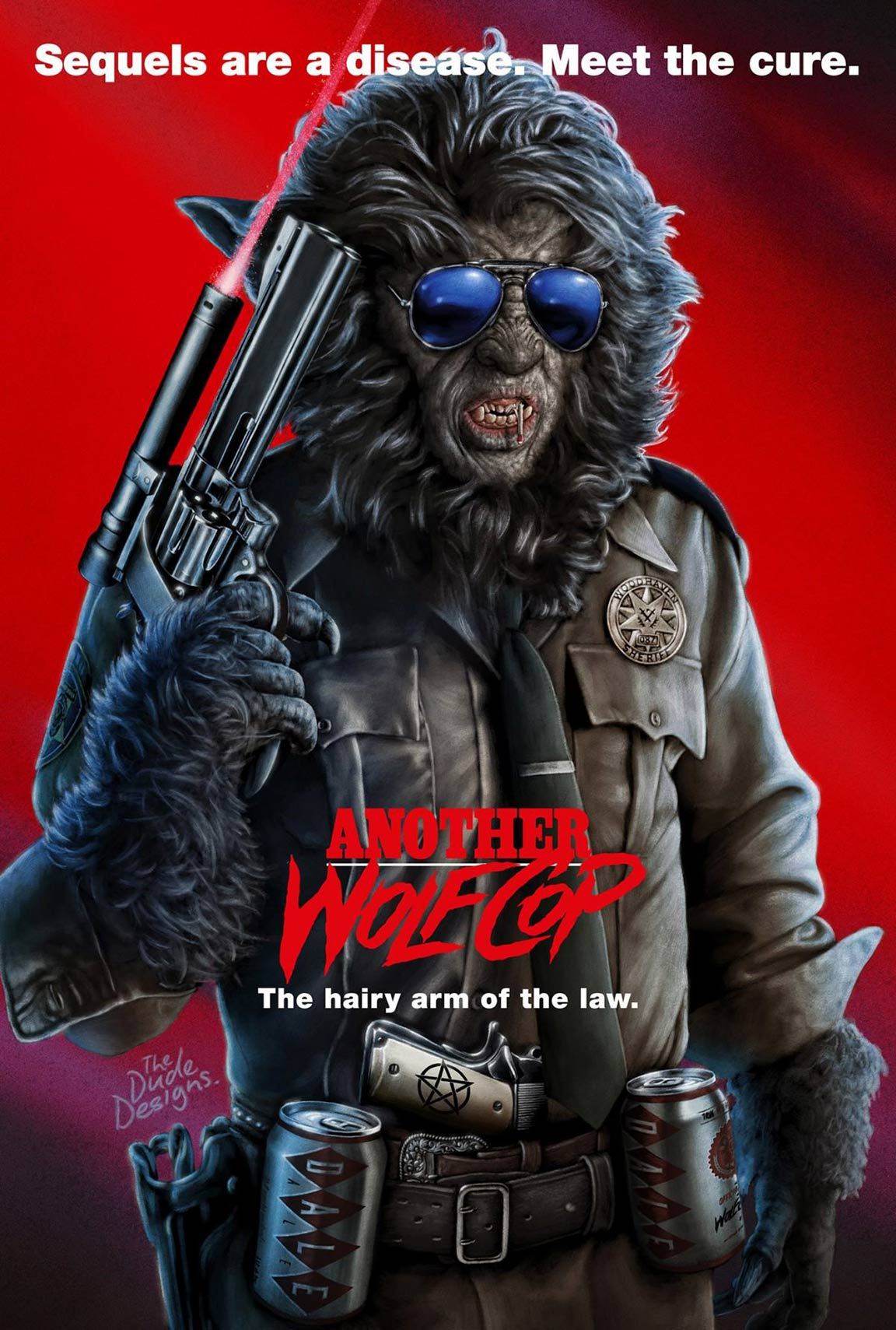 Another WolfCop Poster #1
