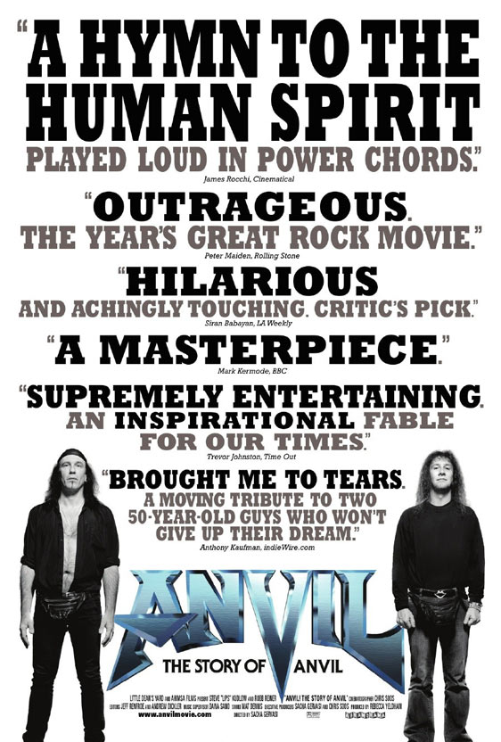 Anvil! The Story of Anvil Poster #1