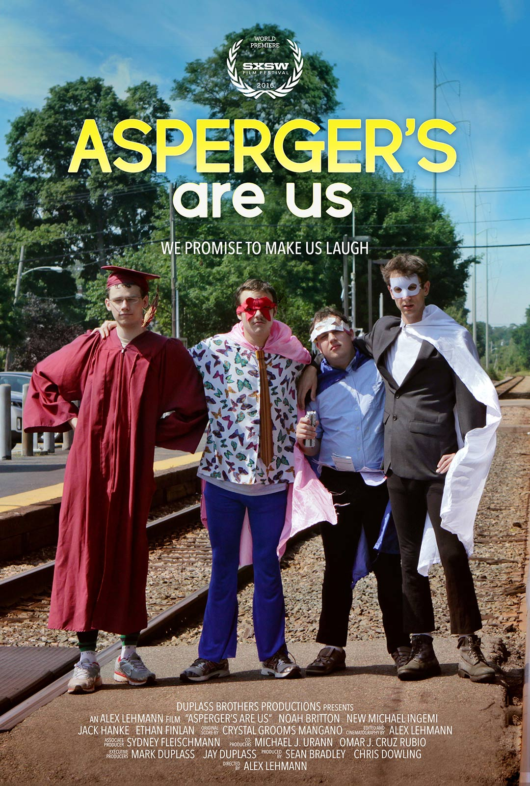 Asperger's Are Us Poster #1