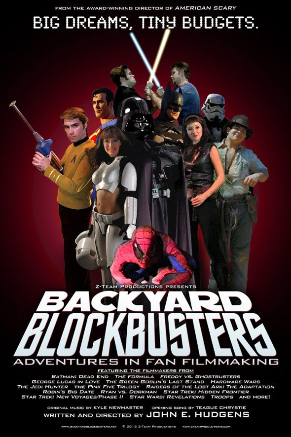 Backyard Blockbusters Poster #1