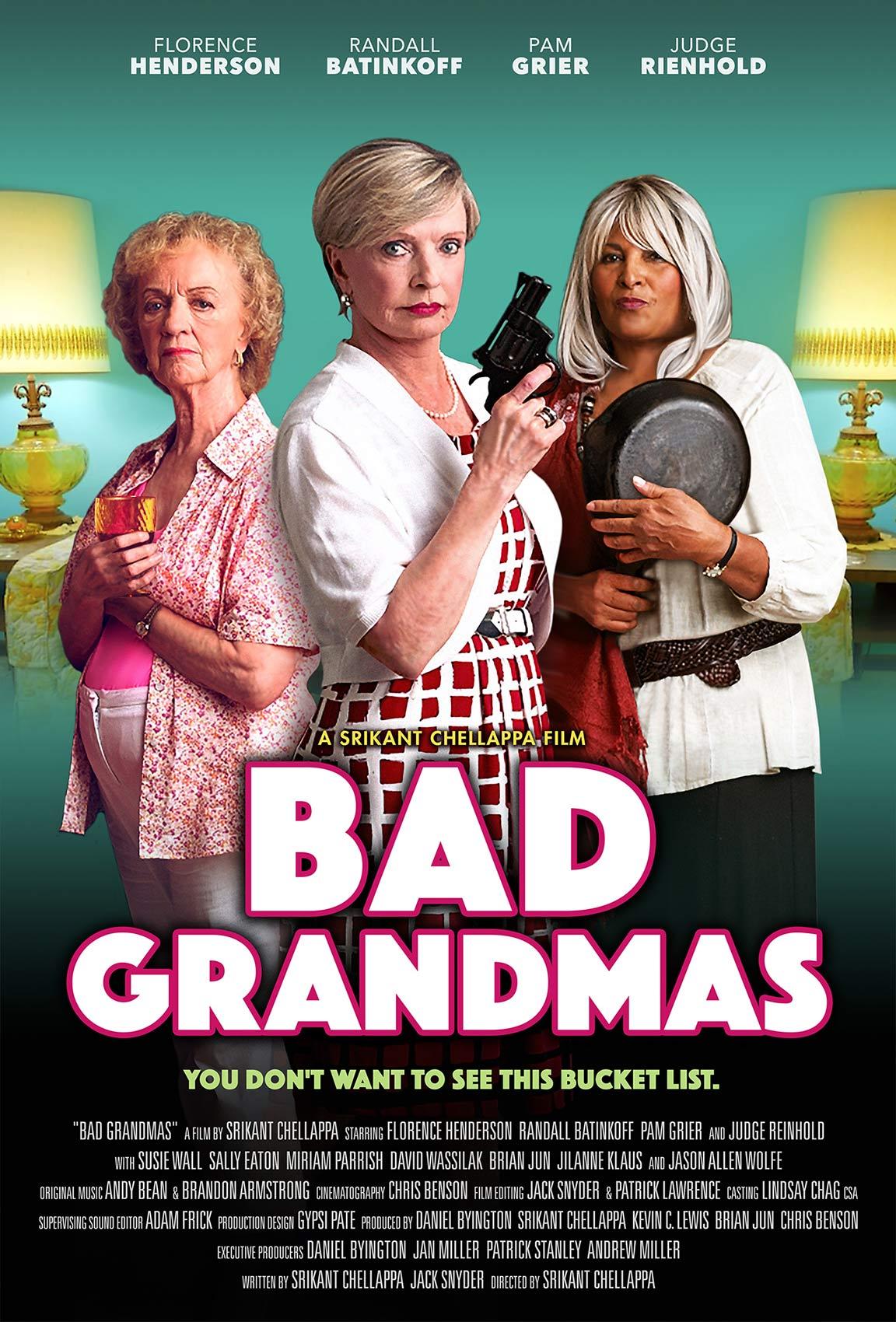 Bad Grandmas Poster #1