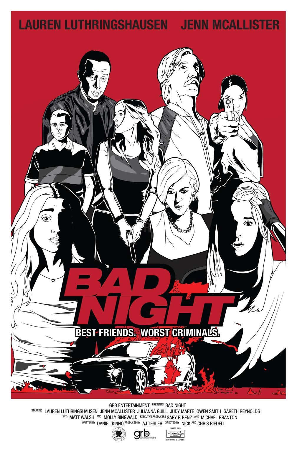 Bad Night Poster #1