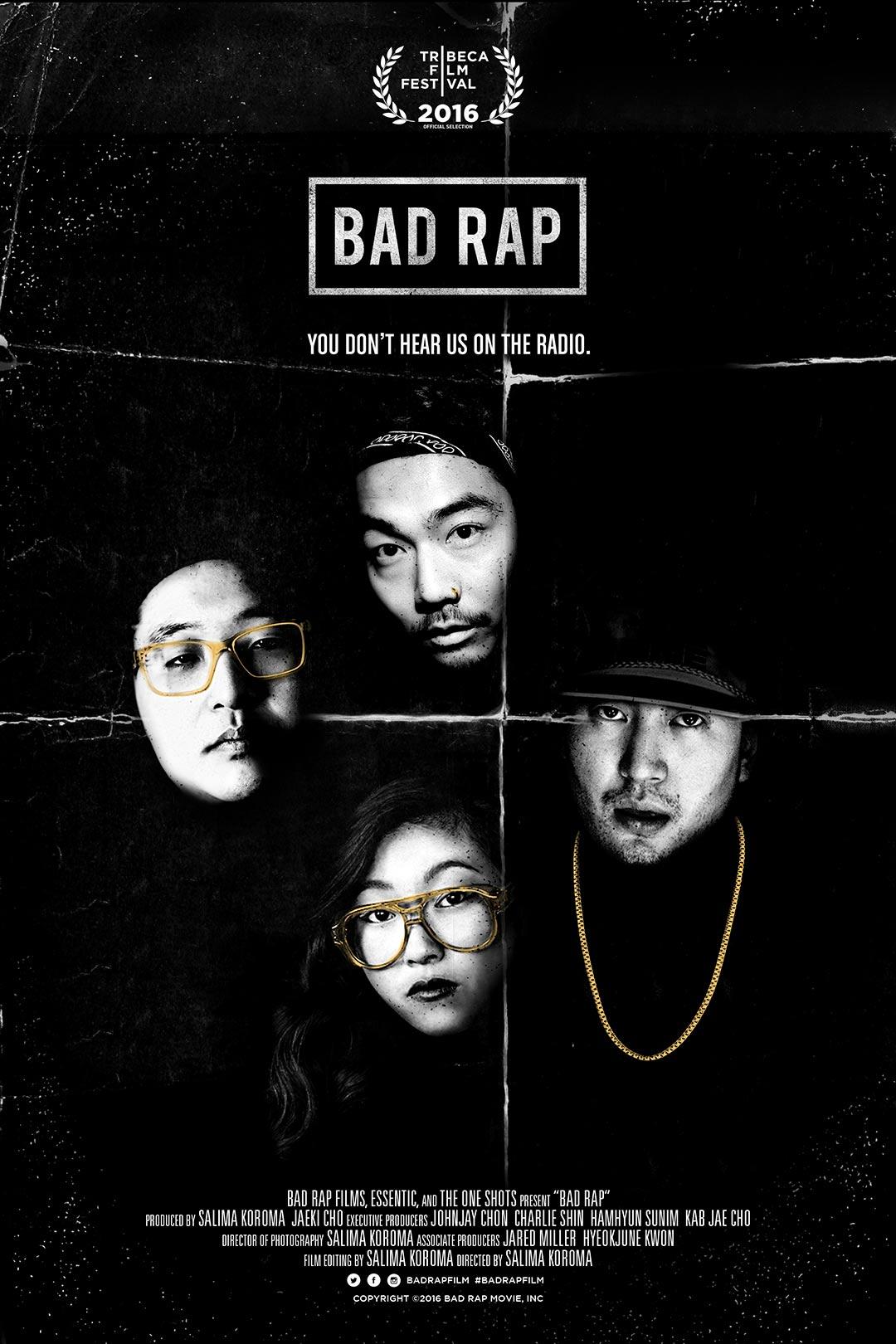 Bad Rap Poster #1
