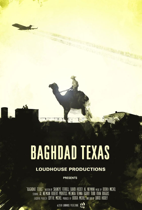Baghdad Texas Poster #1