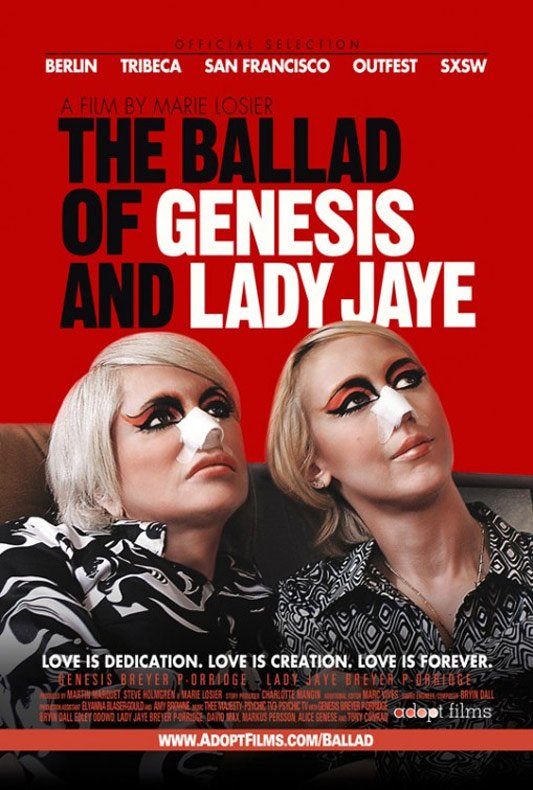 The Ballad of Genesis and Lady Jaye Poster #1