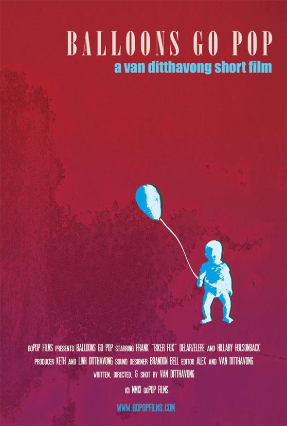Balloons Go Pop Poster #1