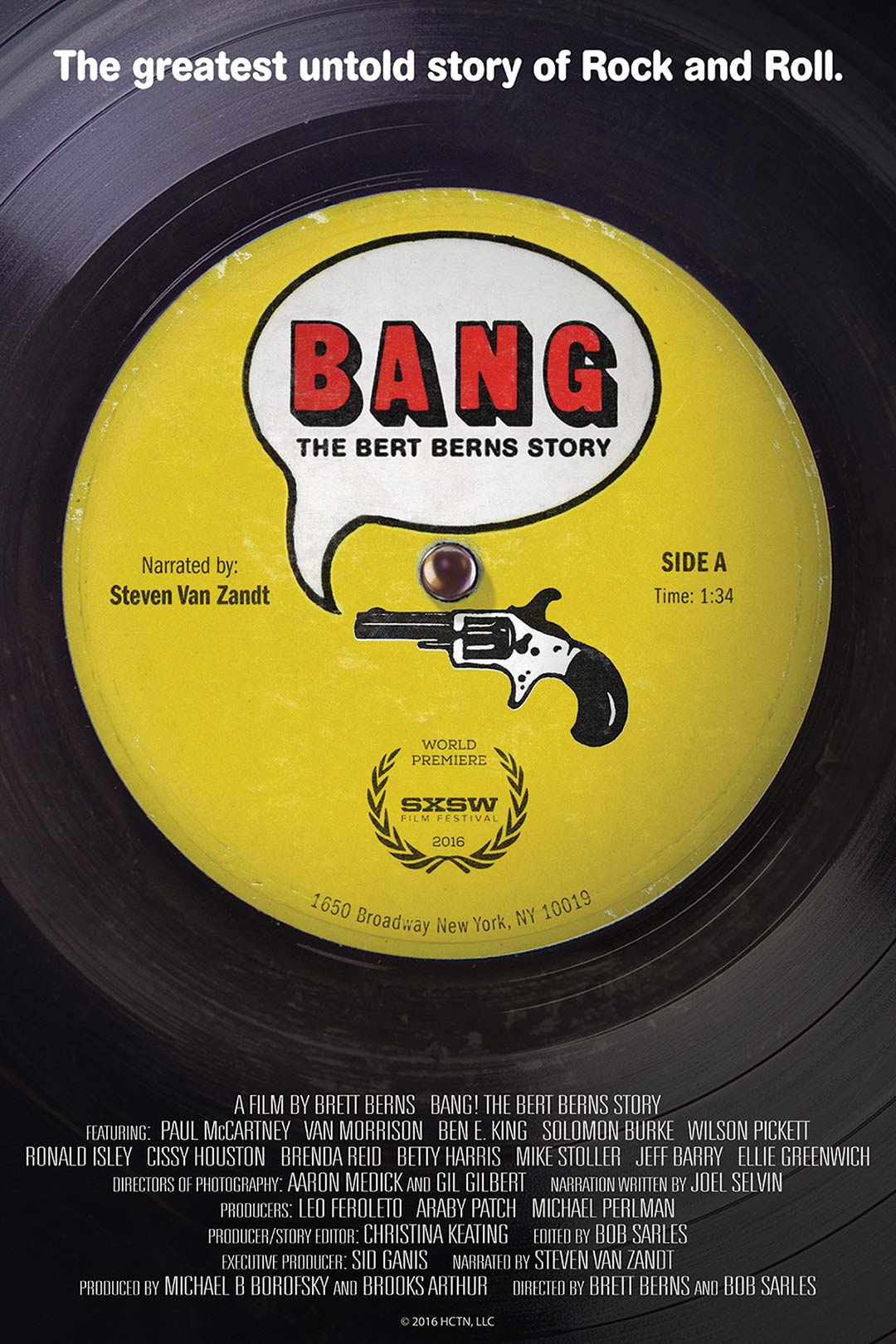Bang! The Bert Berns Story Poster #1
