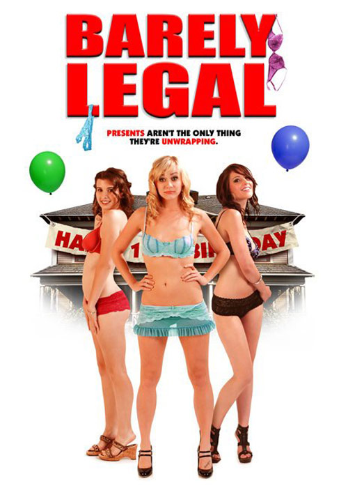 Barely Legal Poster #1