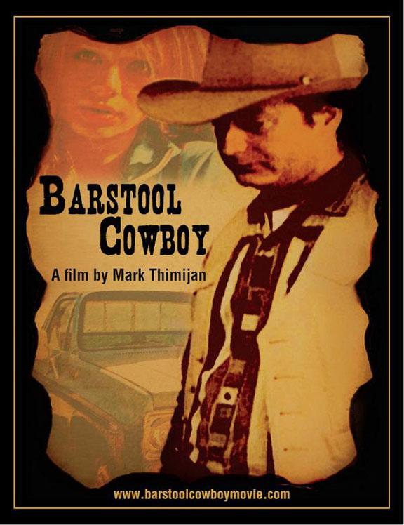 Barstool Cowboy Poster #1