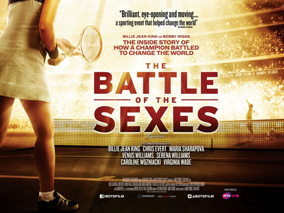 The Battle of the Sexes Poster #1