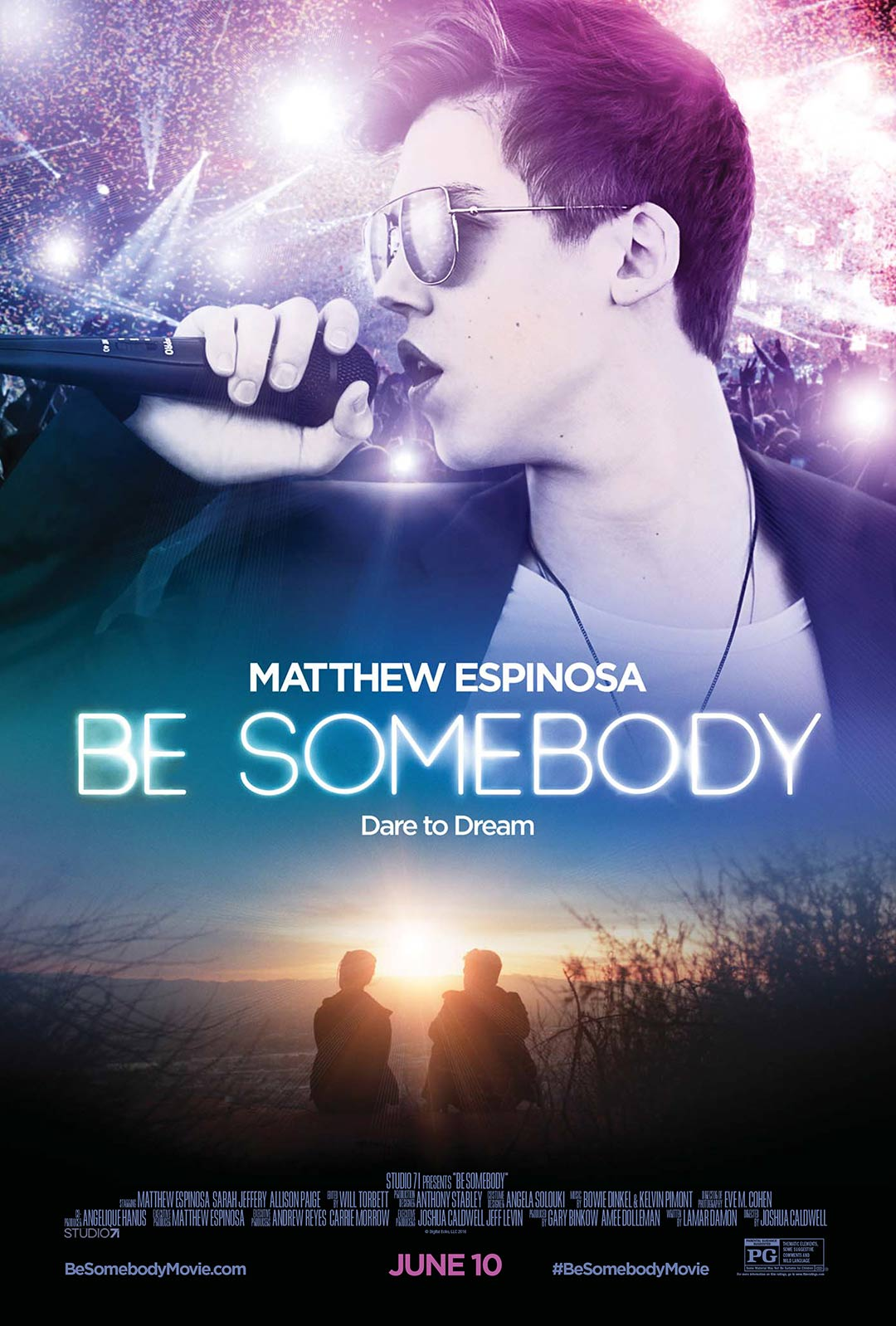 Be Somebody Poster #1
