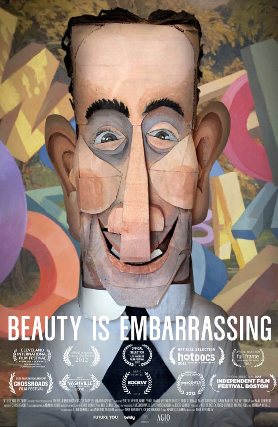 Beauty Is Embarrassing Poster #1